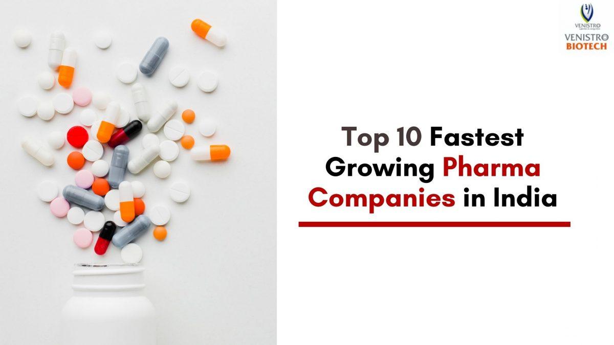 Fastest Growing Pharma Companies in India